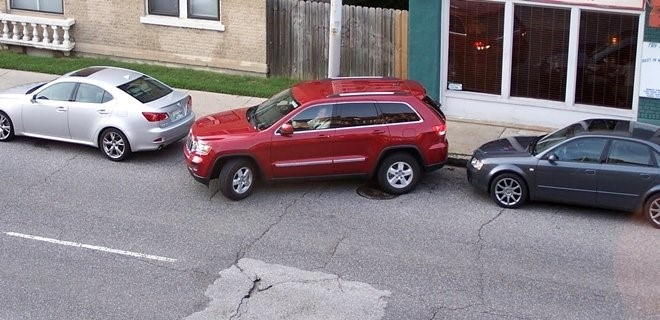yatay araç park etme