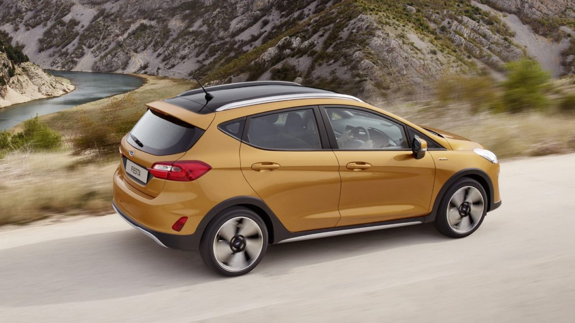 Ford Fiesta Active 2018 modeli