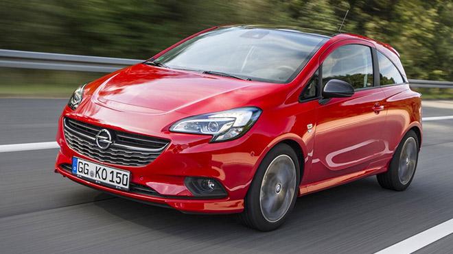 2018 model Opel Corsa kırmızı
