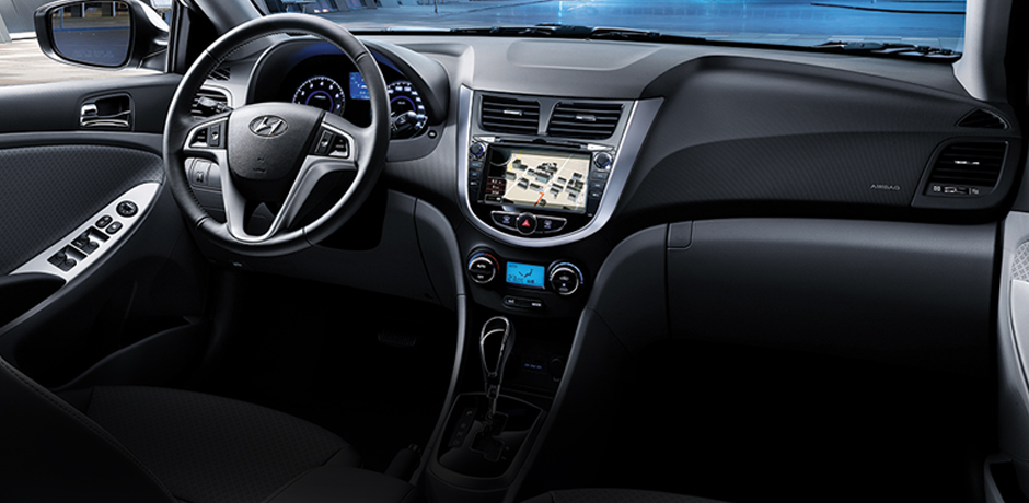 Hyundai Accent Blue İçi