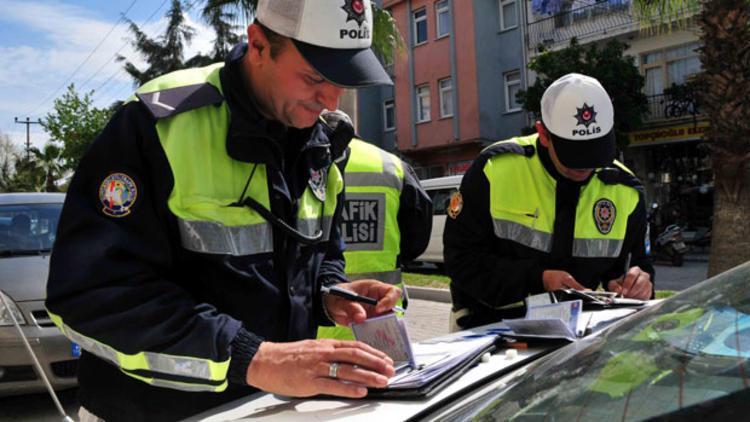 Trafik para cezası rakamları