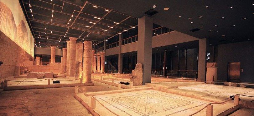 zeugma mozaik müzesi iç mekan, türkiye'nin en büyük müzeleri