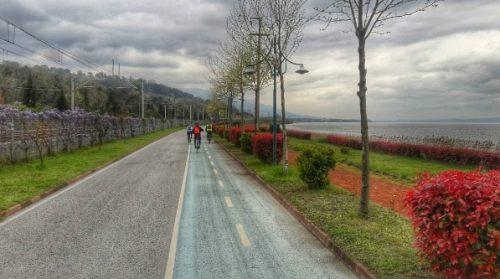 sapanca'da Bisiklet turu