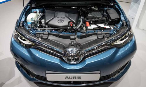 Toyota Auris Motor Gorseli