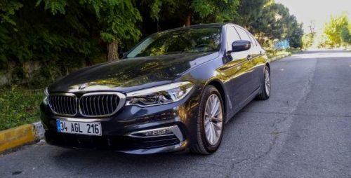 BMW 520i Sedan Testi yaptık!