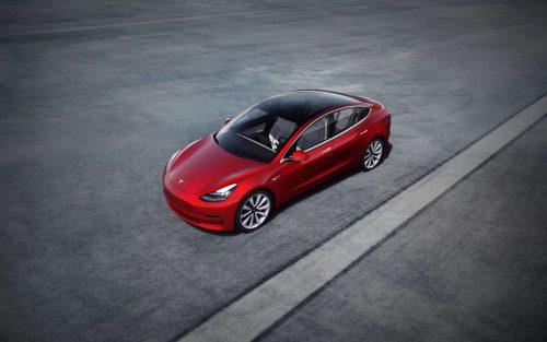 Tesla Model 3 testi
