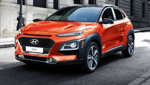 Hyundai Kona Kırmızı