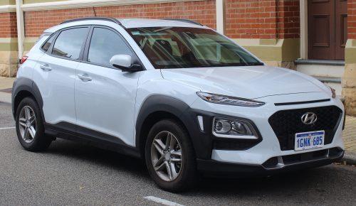 Hyundai Kona Beyaz