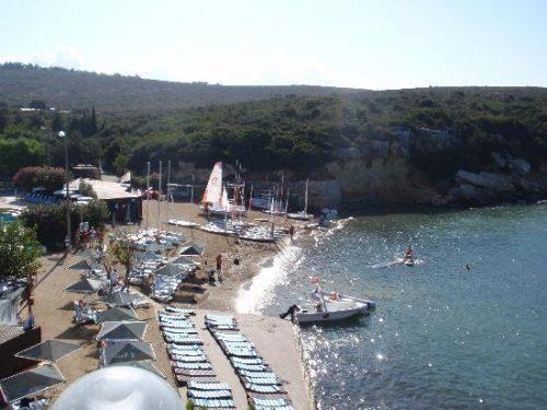 Teos Sahilinde