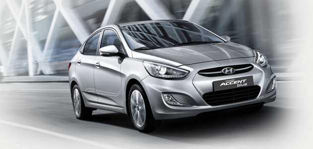 Hyundai Accent Blue 2019