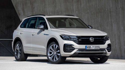 Volkswagen Touareg görserlleri