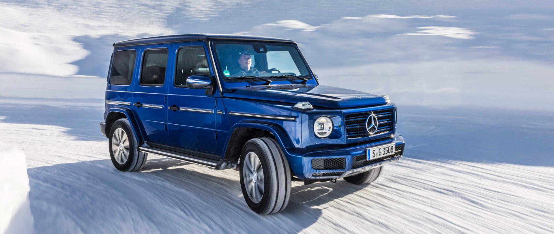 Mercedes G 350 Fotoğrafı Mavi