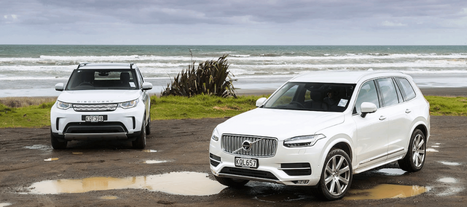 Land Rover Discovery Kiralama ve Volvo XC90