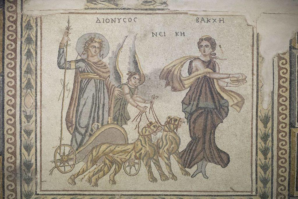 zeugma mozaik müzesi, sergilenen mozaikler