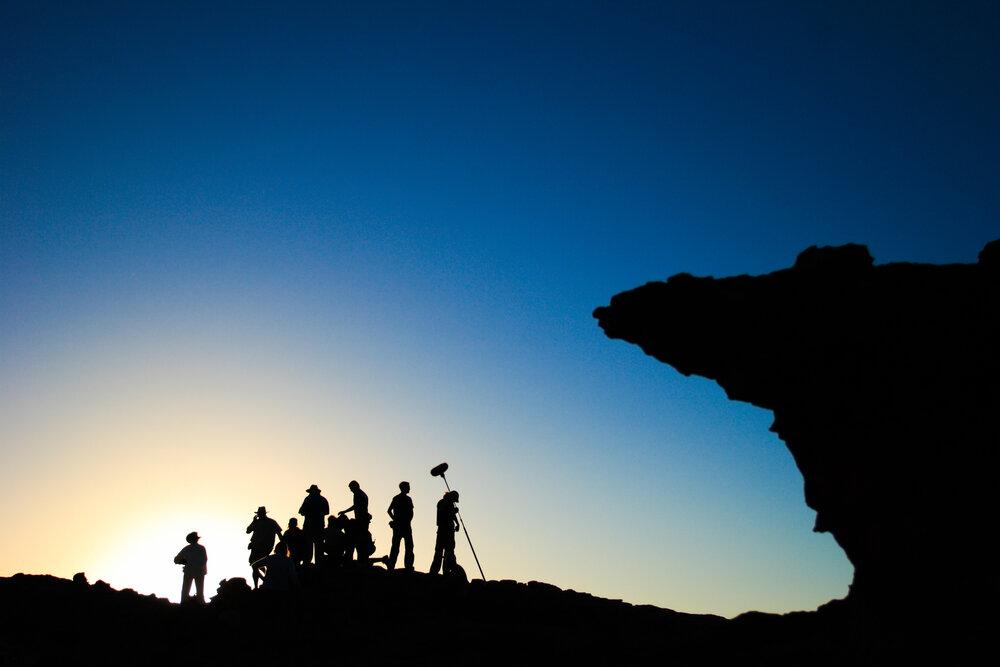 Dizi ve Filmlerin Çekildiği Yerler, gece çekim yapan ekip